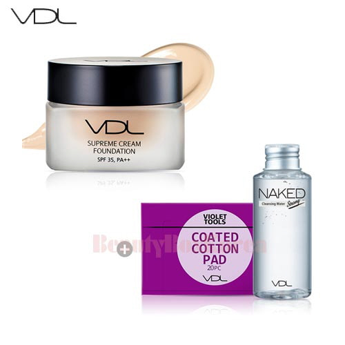 VDL Supream Cream Foundation Set 3items [Monthly Limited - January]